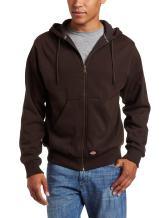 Dickies Men's Thermal-Lined Fleece Hoodie