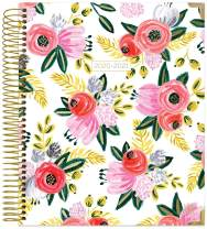 """bloom daily planners 2020-2021 HARDCOVER Academic Year Goal & Vision Planner (July 2020 - July 2021) - Monthly/Weekly Agenda Calendar Organizer - 7.5"""" x 9"""" - Rustic Blooms"""