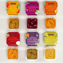 lil'gourmets Organic Baby Food Stage 1 2 3 4– Refrigerated Natural, Organic Baby Food & Toddler Food, Variety Pack (Pack of 8)