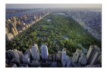 New York City, NY - Aerial View of Central Park 9002479 (Premium 1000 Piece Jigsaw Puzzle for Adults, 20x30, Made in USA!)