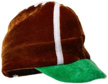 Beistle 60709 1-Pack Plush Football Hat for Parties