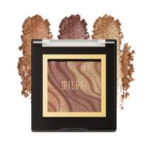 Milani Spotlight Face & Eye Strobe Palette - Color (0.23 Ounce) Cruelty-Free Highlighter & Eyeshadow Compact - Shape, Contour & Highlight with Shimmer Shades