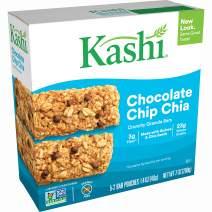 Kashi Crunchy Chocolate Chip Chia Granola Bars - Vegan, 5 Pouches, 2 Bars Per Pouch