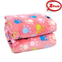 LUXMO Pet Blanket Warm Cats Dogs Sleep Mat Pad Bed Sofa Blankets for Puppy and Other Small Size Animals