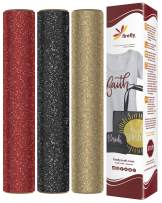 """Firefly Craft Glitter Heat Transfer Vinyl Bundle 