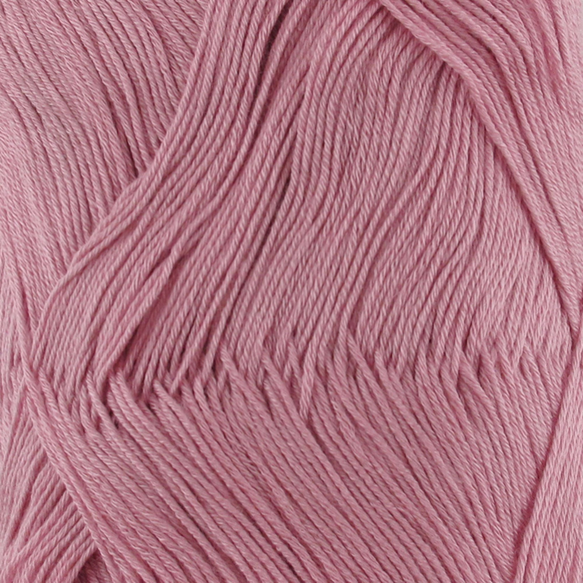 Super Fine Weight Rayon from Bamboo Fiber Yarn - Victorian Pink - 2 Skeins - 50g/Skein - BambooMN Brand