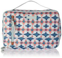 Vera Bradley Women's Lighten Up Large Blush & Brush Cosmetic Makeup Case