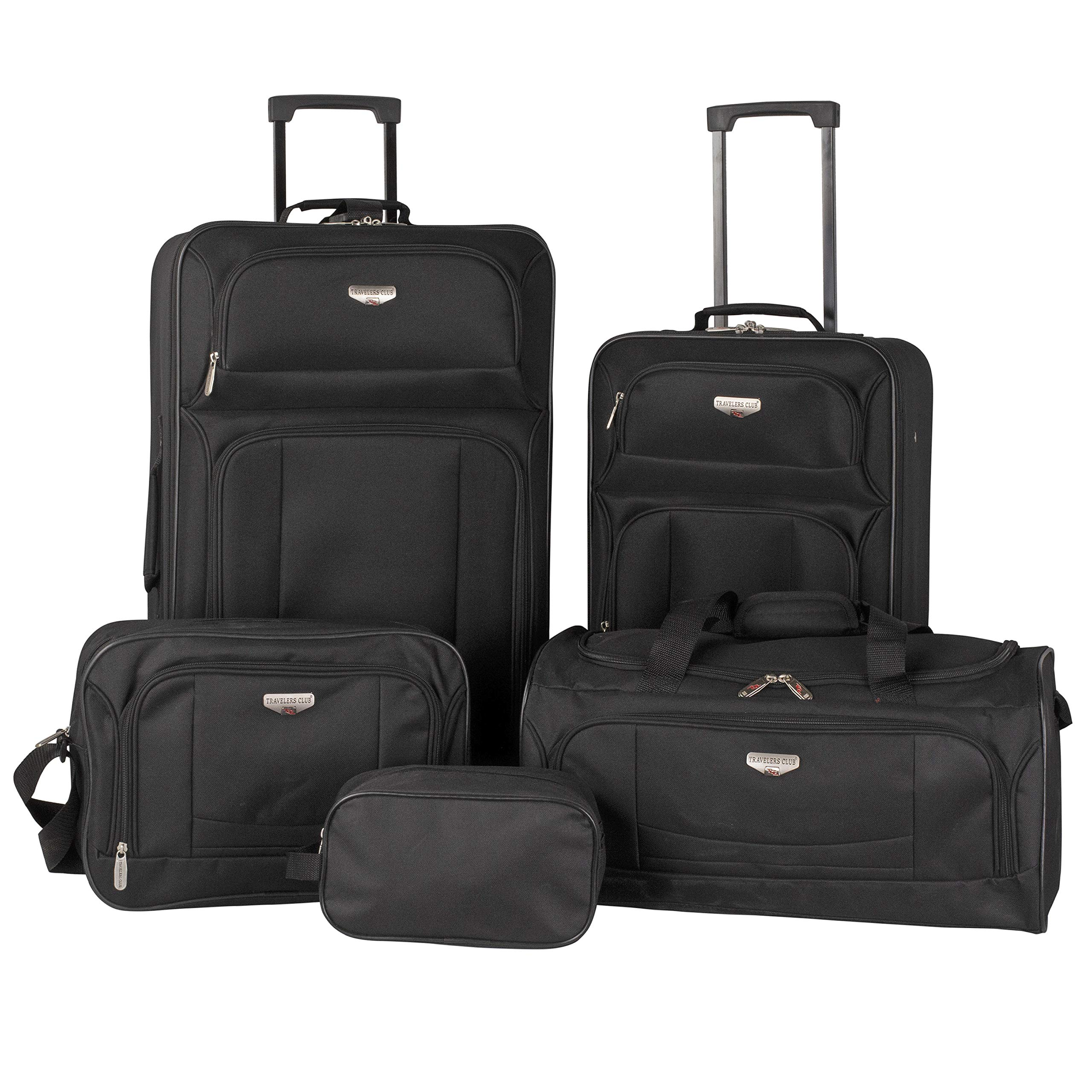 Travelers Club 5 Piece Padua Expandable Luggage Set