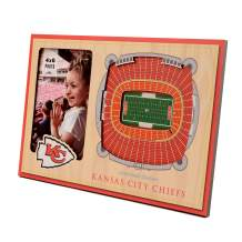 YouTheFan NFL Kansas City Chiefs 3D StadiumViews Picture Frame , 8 x 12 in