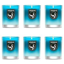 Vavana Aromatherapy Candles   Premium Scented Candles   Each Candle Set is Crafted with Perfection - 6 Pack (Aegean Blue)