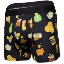 Mens Boxer Briefs-Premium Underwear for Men-Stylish & Comfortable Boxer-Gift Box