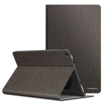 MoKo Case for All-New Fire HD 10 Tablet (7th / 9th Generation, 2017/2019 Release) - Lightweight Stand Folio Shockproof Cover Protector with Auto Wake/Sleep for Fire HD 10.1 Inch, Coffee