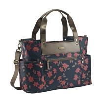 JJ Cole Arrington Diaper Bag, Navy Floral
