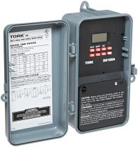 NSi DGS Series Signaling and Duty Cycle 24 Hour Time Switch with 1 Channel, 120-277 VAC 50/60 Hz Input Supply, DPDT Output Contact (DG180A)