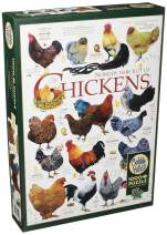 Cobblehill 80120 1000 pc Chicken Quotes Puzzle, Various