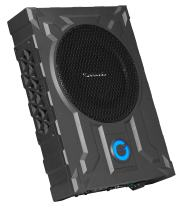 Planet Audio PA8W Amplified Car Subwoofer - 800 Watts Max Power, Low Profile, 8 Inch Subwoofer, Remote Subwoofer Control, Great for Vehicles That Need Bass But Have Limited Space