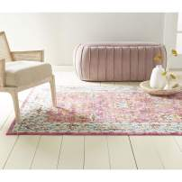 "Home Dynamix Bella Amelia Rug, 5'2""x7'2"" Rectangle, Pink Ivory Blue"