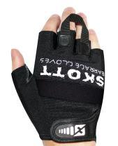 Skott Barrage Evo 2 Half Finger Weightlifting Gloves - Best Gym Workout Fitness