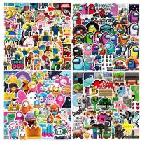 Video Game Mixed Pack stickers [200 Pcs] Vinyl Waterproof for Skateboard,Laptop, Hydro Flask, Water Bottle,Computer,Guitar,Luggage,Bike Bumper.for Adults Kids Video Game Stickers (Video Game Stickers)