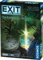 Exit: The Forgotten Island | Exit: The Game - A Kosmos Game | Family-Friendly, Card-Based at-Home Escape Room Experience for 1 to 4 Players, Ages 12+