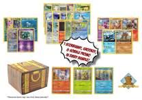 Pokemon 100 Card Lot - Bonus Sword & Shield Starter Pokemon - Grookey - Scorbunny - Sobble Promo Cards! Foils - Rares ! Includes Golden Groundhog Treasure Box!