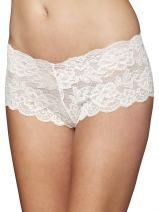 Julianna Rae Boy-Short for Women, Soft Lace Underwear, Elegant Fit, Tresor, Sleepwear, Lingerie, Beautiful Gift Packaging