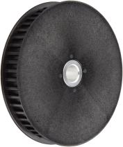 "Boston Gear PLB3060DF093/8 Timing Pulley for 9mm Wide Belts, 60 Groves, 0.375"" Bore Diameter, 2.226"" Outside Diameter, 0.813"" Overall Length,  Lexan"