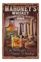 Whiskey - Vintage Sign (Premium 1000 Piece Jigsaw Puzzle for Adults, 20x30, Made in USA!)