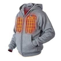 Venture Heat Heated Hoodie with USB Battery - Polar Fleece Heated Sweater, Transit