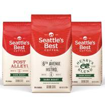 Seattle's Best Variety Pack Dark, Dark, 12 Ounce (Pack of 3)