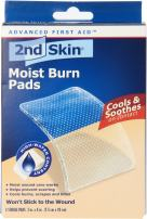 Spenco 2nd Skin Moist Burn Pads, Large (3 x 4 Inches), 3-Count