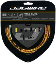 Jagwire - Road Elite Link Brake DIY Cable Kit   for Road Brake Caliper Bikes   SRAM and Shimano Compatible, Compressionless Housing, 6 Color Options