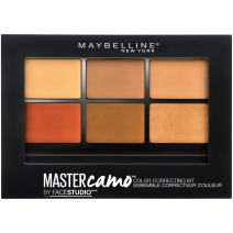 Maybelline New York Facestudio Master Camo Color Correcting Kit, Deep, 0.21 oz.