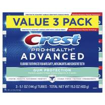 Crest Pro-Health Advanced Gum Protection Toothpaste, 5.1 Ounce, 3 Count