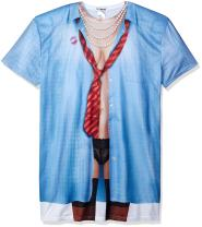 Faux Real Women's 3D Photo-Realistic Short Sleeve Nightshirt, One Size Fits Most