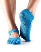 ToeSox Grip Pilates Barre Socks – Non Slip Bella Full Toe for Yoga & Ballet