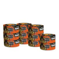 """Gorilla Black Tough & Wide Duct Tape, 2.88"""" x 30 yd, Black, (Pack of 11)"""