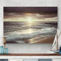 Renditions Gallery Landscape Pictures Artwork Giclee Print Canvas Art Ready to Hang for Home Wall Decor, 24x36, Friday Night Lights