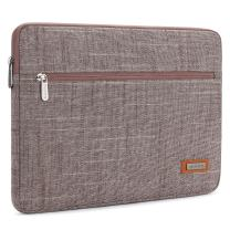 """NIDOO 12.5-13 Inch Laptop Sleeve Case Protective Bag Portable Pouch for 13"""" MacBook Pro / 12.9"""" iPad Pro 2016-2017/13.5"""" Surface Laptop 3/13.3"""" Lenovo Yoga S730 730 ThinkPad X39 C630, Rosybrown"""