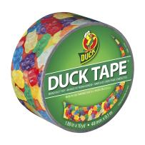 Duck Brand 282495 Printed Duct Tape, Gummy Bears, 1.88 Inches x 10 Yards, Single Roll