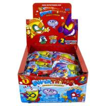 SuperThings Series 1 - Two Pack Cdu by Goliath - Each Cdu Contains 30 Two Pack Blind Bags - Each Blind Bag Contains 1 Superhero, 1 Supervillain & 1 Checklist (108695)
