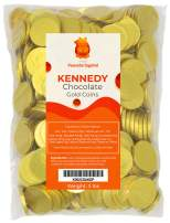 Milk Chocolate Kennedy Gold Coins, Large - 3 Pounds