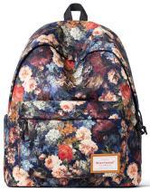 Forestfish School Backpack Bookbags Lightweight Travel Daypack Laptop Bag for Grils Women Gift