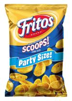Fritos Scoops! Corn Chips, Party Size! (18 Ounce)