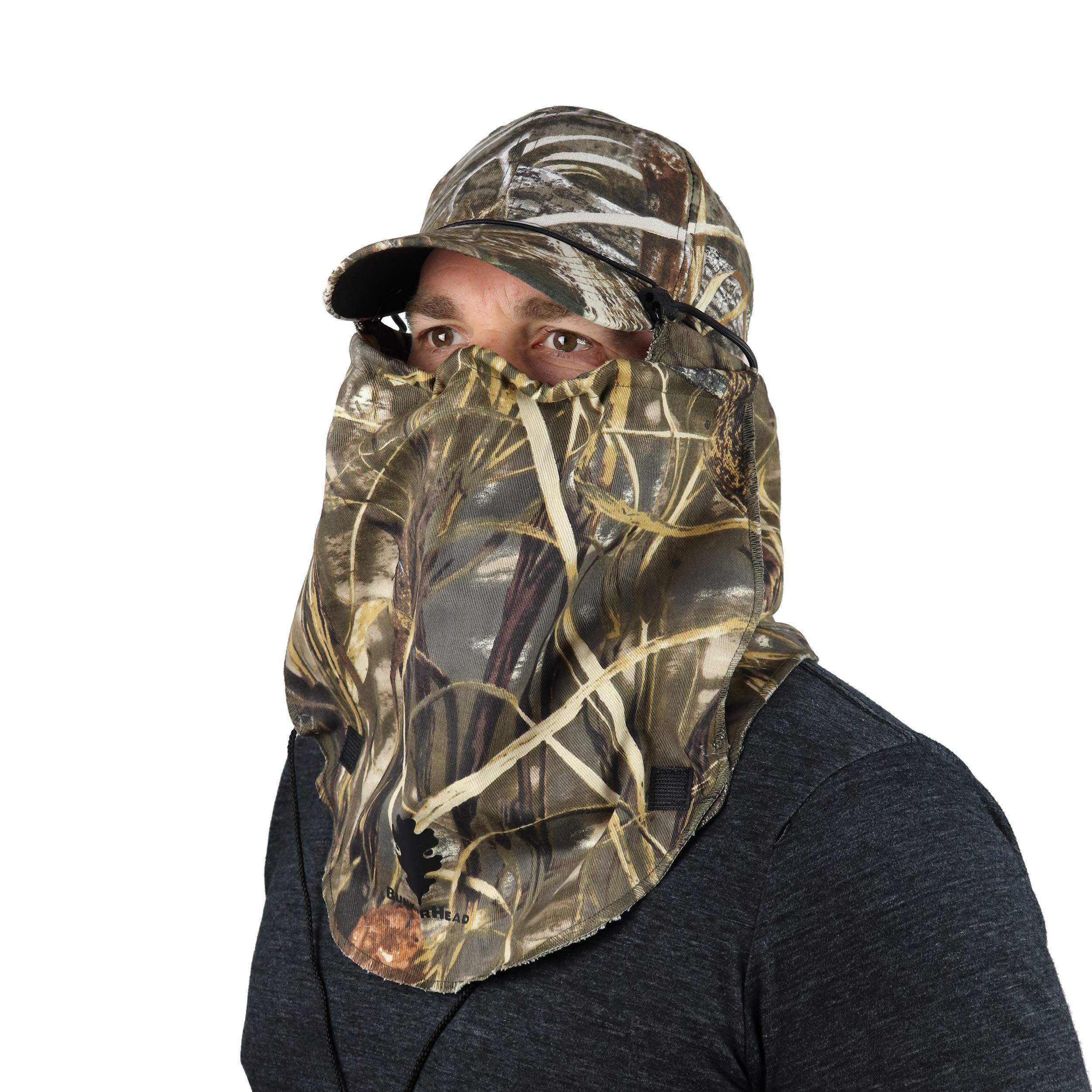 BunkerHead Cotton Camo Head Concealment System