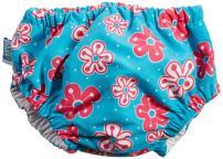 My Swim Baby Diaper New Sizing, Aqua Petal, Small