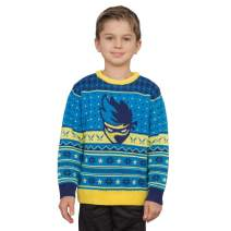Ninja Video Game Streamer Blue Face Sweater