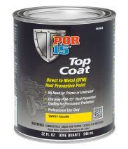POR-15 46304 Top Coat Safety Yellow Paint 32. Fluid_Ounces