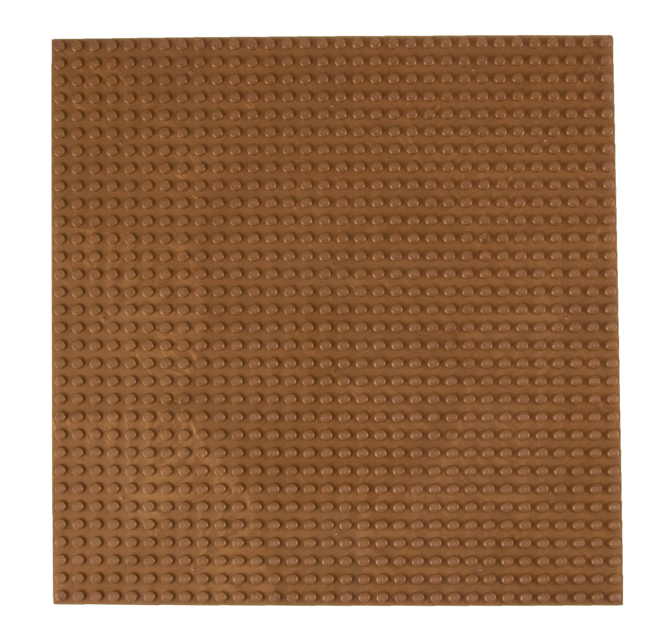 """Strictly Briks Classic Baseplates 10"""" x 10"""" Stackable Brick Base Plate 100% Compatible with All Major Brands   Baseplate for Building Towers, Tables & More   1 Copper Baseplate"""