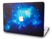 "KECC Laptop Case for MacBook Air 13"" Plastic Case Hard Shell Cover A1466/A1369 (Blue 2)"